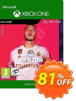 FIFA 20 Xbox One (EU) discount coupon FIFA 20 Xbox One (EU) Deal 2021 CDkeys - FIFA 20 Xbox One (EU) Exclusive Sale offer for iVoicesoft