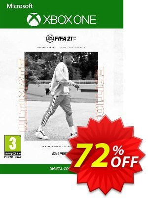 FIFA 21 - Ultimate Edition Xbox One/Xbox Series X|S (US) Coupon, discount FIFA 21 - Ultimate Edition Xbox One/Xbox Series X|S (US) Deal 2021 CDkeys. Promotion: FIFA 21 - Ultimate Edition Xbox One/Xbox Series X|S (US) Exclusive Sale offer for iVoicesoft