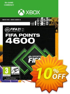 FIFA 21 Ultimate Team 4600 Points Pack Xbox One / Xbox Series X discount coupon FIFA 21 Ultimate Team 4600 Points Pack Xbox One / Xbox Series X Deal 2021 CDkeys - FIFA 21 Ultimate Team 4600 Points Pack Xbox One / Xbox Series X Exclusive Sale offer for iVoicesoft
