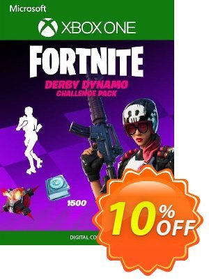 Fortnite - Derby Dynamo Challenge Pack Xbox One (UK) discount coupon Fortnite - Derby Dynamo Challenge Pack Xbox One (UK) Deal 2021 CDkeys - Fortnite - Derby Dynamo Challenge Pack Xbox One (UK) Exclusive Sale offer for iVoicesoft