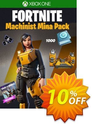 Fortnite - Machinist Mina Pack Xbox One (UK) discount coupon Fortnite - Machinist Mina Pack Xbox One (UK) Deal 2021 CDkeys - Fortnite - Machinist Mina Pack Xbox One (UK) Exclusive Sale offer for iVoicesoft