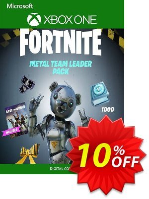 Fortnite - Metal Team Leader Pack Xbox One (UK) discount coupon Fortnite - Metal Team Leader Pack Xbox One (UK) Deal 2021 CDkeys - Fortnite - Metal Team Leader Pack Xbox One (UK) Exclusive Sale offer for iVoicesoft
