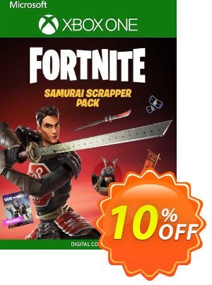 Fortnite: Samurai Scrapper Pack Xbox One (US) discount coupon Fortnite: Samurai Scrapper Pack Xbox One (US) Deal 2021 CDkeys - Fortnite: Samurai Scrapper Pack Xbox One (US) Exclusive Sale offer for iVoicesoft