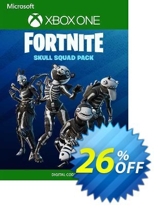 Fortnite - Skull Squad Pack Xbox One (EU) discount coupon Fortnite - Skull Squad Pack Xbox One (EU) Deal 2021 CDkeys - Fortnite - Skull Squad Pack Xbox One (EU) Exclusive Sale offer for iVoicesoft