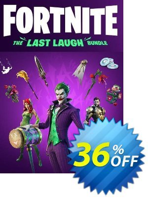 Fortnite: The Last Laugh Bundle Xbox One discount coupon Fortnite: The Last Laugh Bundle Xbox One Deal 2021 CDkeys - Fortnite: The Last Laugh Bundle Xbox One Exclusive Sale offer for iVoicesoft
