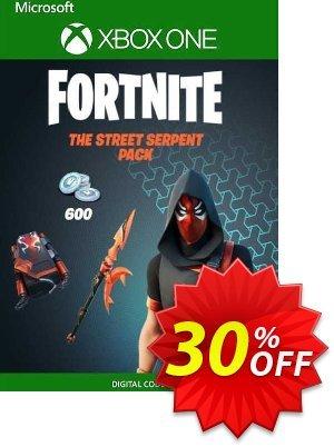 Fortnite - The Street Serpent Pack Xbox One (UK) discount coupon Fortnite - The Street Serpent Pack Xbox One (UK) Deal 2021 CDkeys - Fortnite - The Street Serpent Pack Xbox One (UK) Exclusive Sale offer for iVoicesoft