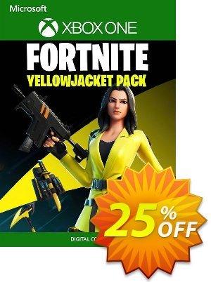 Fortnite - The Yellow Jacket Pack Xbox One (UK) Coupon discount Fortnite - The Yellow Jacket Pack Xbox One (UK) Deal 2021 CDkeys