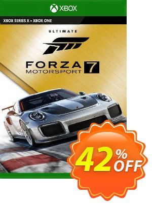 Forza Motorsport 7 Ultimate Edition Xbox One/PC (US) discount coupon Forza Motorsport 7 Ultimate Edition Xbox One/PC (US) Deal 2021 CDkeys - Forza Motorsport 7 Ultimate Edition Xbox One/PC (US) Exclusive Sale offer for iVoicesoft