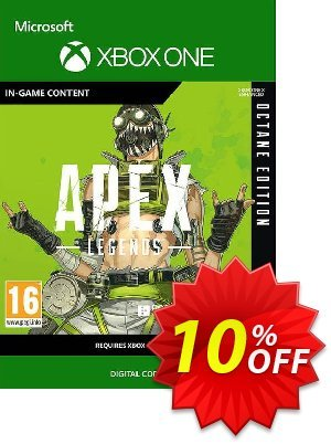 Apex Legends: Octane Edition Xbox One discount coupon Apex Legends: Octane Edition Xbox One Deal 2021 CDkeys - Apex Legends: Octane Edition Xbox One Exclusive Sale offer for iVoicesoft