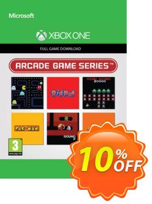 Arcade Game Series 3-in-1 Pack Xbox One discount coupon Arcade Game Series 3-in-1 Pack Xbox One Deal 2021 CDkeys - Arcade Game Series 3-in-1 Pack Xbox One Exclusive Sale offer for iVoicesoft