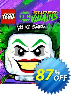 Lego DC Super-Villains Deluxe Edition PC 프로모션 코드 Lego DC Super-Villains Deluxe Edition PC Deal 프로모션: Lego DC Super-Villains Deluxe Edition PC Exclusive offer for iVoicesoft