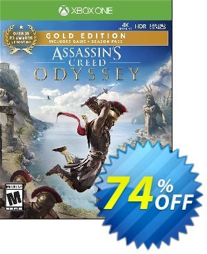 Assassin's Creed: Odyssey - Gold Edition Xbox One (UK) Coupon, discount Assassin's Creed: Odyssey - Gold Edition Xbox One (UK) Deal 2021 CDkeys. Promotion: Assassin's Creed: Odyssey - Gold Edition Xbox One (UK) Exclusive Sale offer for iVoicesoft