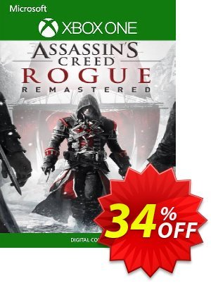 Assassin's Creed Rogue Remastered Xbox One (UK) discount coupon Assassin's Creed Rogue Remastered Xbox One (UK) Deal 2021 CDkeys - Assassin's Creed Rogue Remastered Xbox One (UK) Exclusive Sale offer for iVoicesoft
