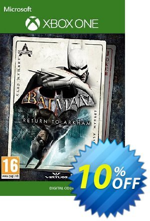 Batman: Return to Arkham Xbox One discount coupon Batman: Return to Arkham Xbox One Deal 2021 CDkeys - Batman: Return to Arkham Xbox One Exclusive Sale offer for iVoicesoft