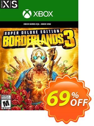 Borderlands 3 - Super Deluxe Edition Xbox One/Xbox Series X S (UK) discount coupon Borderlands 3 - Super Deluxe Edition Xbox One/Xbox Series X S (UK) Deal 2021 CDkeys - Borderlands 3 - Super Deluxe Edition Xbox One/Xbox Series X S (UK) Exclusive Sale offer for iVoicesoft
