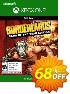 Borderlands: Game of the Year Edition Xbox One (UK) Coupon, discount Borderlands: Game of the Year Edition Xbox One (UK) Deal 2021 CDkeys. Promotion: Borderlands: Game of the Year Edition Xbox One (UK) Exclusive Sale offer for iVoicesoft