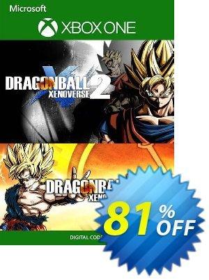Dragon Ball Xenoverse 1 and 2 Bundle Xbox One (UK) discount coupon Dragon Ball Xenoverse 1 and 2 Bundle Xbox One (UK) Deal 2021 CDkeys - Dragon Ball Xenoverse 1 and 2 Bundle Xbox One (UK) Exclusive Sale offer for iVoicesoft