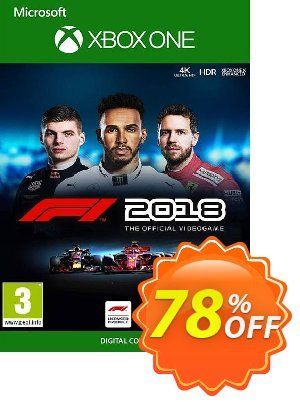 F1 2018 Xbox One (UK) discount coupon F1 2018 Xbox One (UK) Deal 2021 CDkeys - F1 2018 Xbox One (UK) Exclusive Sale offer for iVoicesoft