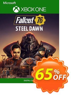 Fallout 76 Steel Dawn Xbox One (UK) discount coupon Fallout 76 Steel Dawn Xbox One (UK) Deal 2021 CDkeys - Fallout 76 Steel Dawn Xbox One (UK) Exclusive Sale offer for iVoicesoft