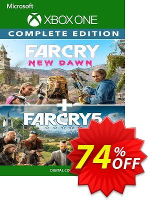 Far Cry 5 + Far Cry New Dawn Deluxe Edition Bundle Xbox One (UK) discount coupon Far Cry 5 + Far Cry New Dawn Deluxe Edition Bundle Xbox One (UK) Deal 2021 CDkeys - Far Cry 5 + Far Cry New Dawn Deluxe Edition Bundle Xbox One (UK) Exclusive Sale offer for iVoicesoft