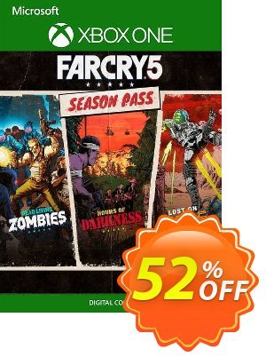 Far Cry 5 Season Pass Xbox One (UK) discount coupon Far Cry 5 Season Pass Xbox One (UK) Deal 2021 CDkeys - Far Cry 5 Season Pass Xbox One (UK) Exclusive Sale offer for iVoicesoft