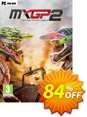 MXGP2: The Official Motocross Videogame PC 優惠券,折扣碼 MXGP2: The Official Motocross Videogame PC Deal,促銷代碼: MXGP2: The Official Motocross Videogame PC Exclusive offer for iVoicesoft