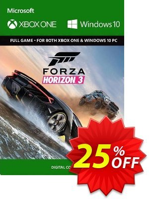 Forza Horizon 3 Xbox One/PC (UK) discount coupon Forza Horizon 3 Xbox One/PC (UK) Deal 2021 CDkeys - Forza Horizon 3 Xbox One/PC (UK) Exclusive Sale offer for iVoicesoft