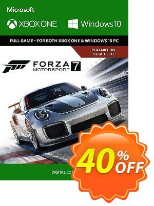 Forza Motorsport 7 Standard Edition Xbox One/PC (UK) discount coupon Forza Motorsport 7 Standard Edition Xbox One/PC (UK) Deal 2021 CDkeys - Forza Motorsport 7 Standard Edition Xbox One/PC (UK) Exclusive Sale offer for iVoicesoft
