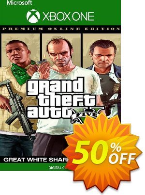 Grand Theft Auto V: Premium Online Edition & Great White Shark Card Bundle Xbox One (UK) discount coupon Grand Theft Auto V: Premium Online Edition & Great White Shark Card Bundle Xbox One (UK) Deal 2021 CDkeys - Grand Theft Auto V: Premium Online Edition & Great White Shark Card Bundle Xbox One (UK) Exclusive Sale offer for iVoicesoft