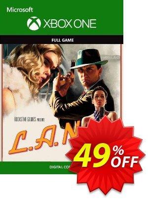 L.A. Noire Xbox One (UK) Coupon discount L.A. Noire Xbox One (UK) Deal 2021 CDkeys
