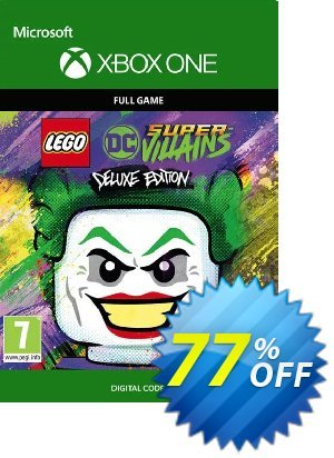 LEGO DC Super-Villains Deluxe Edition Xbox One (UK) discount coupon LEGO DC Super-Villains Deluxe Edition Xbox One (UK) Deal 2021 CDkeys - LEGO DC Super-Villains Deluxe Edition Xbox One (UK) Exclusive Sale offer for iVoicesoft