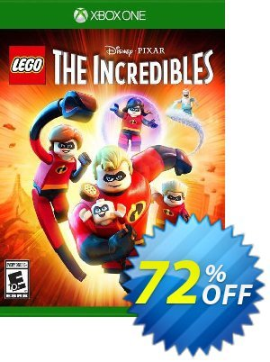 LEGO The Incredibles Xbox One (UK) discount coupon LEGO The Incredibles Xbox One (UK) Deal 2021 CDkeys - LEGO The Incredibles Xbox One (UK) Exclusive Sale offer for iVoicesoft