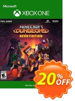 Minecraft Dungeons Hero Edition Xbox One (UK) discount coupon Minecraft Dungeons Hero Edition Xbox One (UK) Deal 2021 CDkeys - Minecraft Dungeons Hero Edition Xbox One (UK) Exclusive Sale offer for iVoicesoft