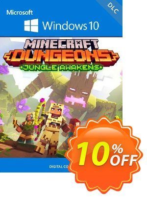 Minecraft Dungeons: Jungle Awakens Windows 10 PC - DLC (UK) discount coupon Minecraft Dungeons: Jungle Awakens Windows 10 PC - DLC (UK) Deal 2021 CDkeys - Minecraft Dungeons: Jungle Awakens Windows 10 PC - DLC (UK) Exclusive Sale offer for iVoicesoft