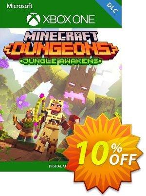 Minecraft Dungeons: Jungle Awakens Xbox One (UK) discount coupon Minecraft Dungeons: Jungle Awakens Xbox One (UK) Deal 2021 CDkeys - Minecraft Dungeons: Jungle Awakens Xbox One (UK) Exclusive Sale offer for iVoicesoft