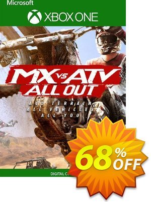 MX vs ATV All Out Xbox One (UK) Coupon, discount MX vs ATV All Out Xbox One (UK) Deal 2021 CDkeys. Promotion: MX vs ATV All Out Xbox One (UK) Exclusive Sale offer for iVoicesoft