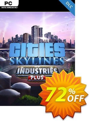 Cities Skylines PC - Industries Plus DLC 優惠券,折扣碼 Cities Skylines PC - Industries Plus DLC Deal,促銷代碼: Cities Skylines PC - Industries Plus DLC Exclusive offer for iVoicesoft