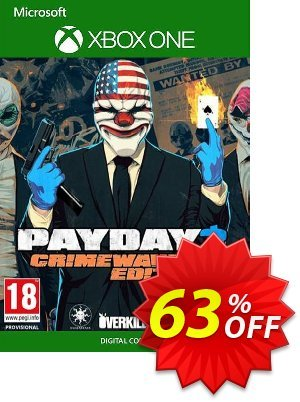 PAYDAY 2 - Crimewave Edition Xbox One (UK) Coupon, discount PAYDAY 2 - Crimewave Edition Xbox One (UK) Deal 2021 CDkeys. Promotion: PAYDAY 2 - Crimewave Edition Xbox One (UK) Exclusive Sale offer for iVoicesoft
