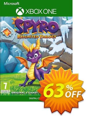 Spyro Reignited Trilogy Xbox One (UK) discount coupon Spyro Reignited Trilogy Xbox One (UK) Deal 2021 CDkeys - Spyro Reignited Trilogy Xbox One (UK) Exclusive Sale offer for iVoicesoft