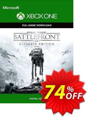Star Wars Battlefront Ultimate Edition Xbox One (US) discount coupon Star Wars Battlefront Ultimate Edition Xbox One (US) Deal 2021 CDkeys - Star Wars Battlefront Ultimate Edition Xbox One (US) Exclusive Sale offer for iVoicesoft