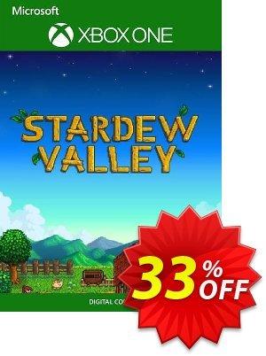Stardew Valley Xbox One (UK) Coupon, discount Stardew Valley Xbox One (UK) Deal 2021 CDkeys. Promotion: Stardew Valley Xbox One (UK) Exclusive Sale offer for iVoicesoft