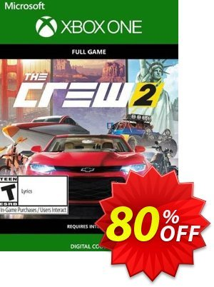 The Crew 2 Xbox One (UK) Coupon, discount The Crew 2 Xbox One (UK) Deal 2021 CDkeys. Promotion: The Crew 2 Xbox One (UK) Exclusive Sale offer for iVoicesoft