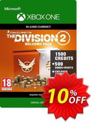 Tom Clancy's The Division 2 Welcome Pack Xbox One discount coupon Tom Clancy's The Division 2 Welcome Pack Xbox One Deal 2021 CDkeys - Tom Clancy's The Division 2 Welcome Pack Xbox One Exclusive Sale offer for iVoicesoft