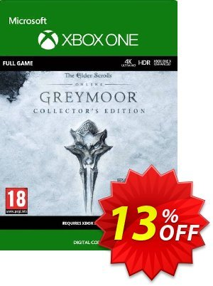 The Elder Scrolls Online: Greymoor Collector's Edition Xbox One discount coupon The Elder Scrolls Online: Greymoor Collector's Edition Xbox One Deal 2021 CDkeys - The Elder Scrolls Online: Greymoor Collector's Edition Xbox One Exclusive Sale offer for iVoicesoft