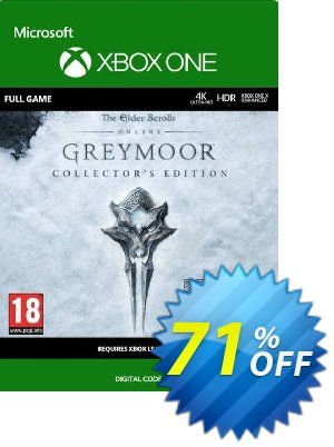 The Elder Scrolls Online: Greymoor Collector's Edition Xbox One (UK) discount coupon The Elder Scrolls Online: Greymoor Collector's Edition Xbox One (UK) Deal 2021 CDkeys - The Elder Scrolls Online: Greymoor Collector's Edition Xbox One (UK) Exclusive Sale offer for iVoicesoft
