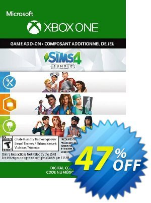 The Sims 4 Bundle - Get to Work, Dine Out, Cool Kitchen Stuff Xbox One (UK) discount coupon The Sims 4 Bundle - Get to Work, Dine Out, Cool Kitchen Stuff Xbox One (UK) Deal 2021 CDkeys - The Sims 4 Bundle - Get to Work, Dine Out, Cool Kitchen Stuff Xbox One (UK) Exclusive Sale offer for iVoicesoft