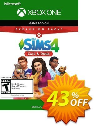 The Sims 4 - Cats and Dog Expansion Pack Xbox One discount coupon The Sims 4 - Cats and Dog Expansion Pack Xbox One Deal 2021 CDkeys - The Sims 4 - Cats and Dog Expansion Pack Xbox One Exclusive Sale offer for iVoicesoft