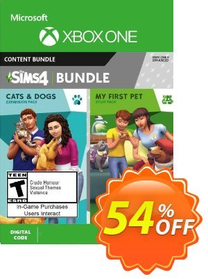 The Sims 4 - Cats & Dogs +  My First Pet Stuff Bundle Xbox One (UK) discount coupon The Sims 4 - Cats & Dogs +  My First Pet Stuff Bundle Xbox One (UK) Deal 2021 CDkeys - The Sims 4 - Cats & Dogs +  My First Pet Stuff Bundle Xbox One (UK) Exclusive Sale offer for iVoicesoft