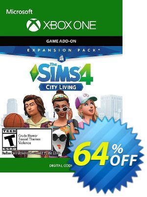The Sims 4 - City Living Xbox One (UK) discount coupon The Sims 4 - City Living Xbox One (UK) Deal 2021 CDkeys - The Sims 4 - City Living Xbox One (UK) Exclusive Sale offer for iVoicesoft