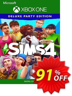 The Sims 4 Deluxe Party Edition Xbox One (US) discount coupon The Sims 4 Deluxe Party Edition Xbox One (US) Deal 2021 CDkeys - The Sims 4 Deluxe Party Edition Xbox One (US) Exclusive Sale offer for iVoicesoft